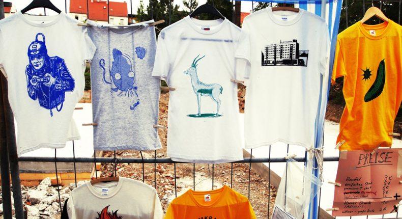 Siebdruck Tshirts